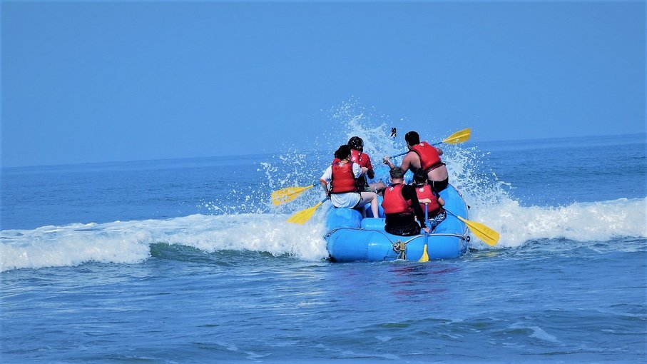 Sea Rafting at Vagator beach - Tour