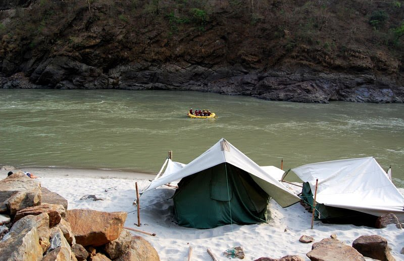 Riverside Camping in Rishikesh - Collection