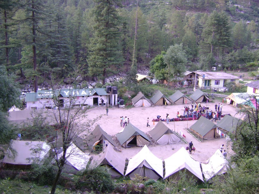 Camping in Kasol - Collection