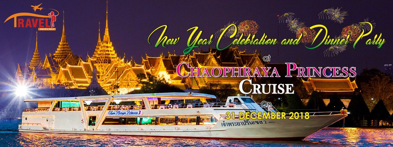 Chaophraya Princess Dinner Cruise Tour 31st Dec New Year celebration special - Tour