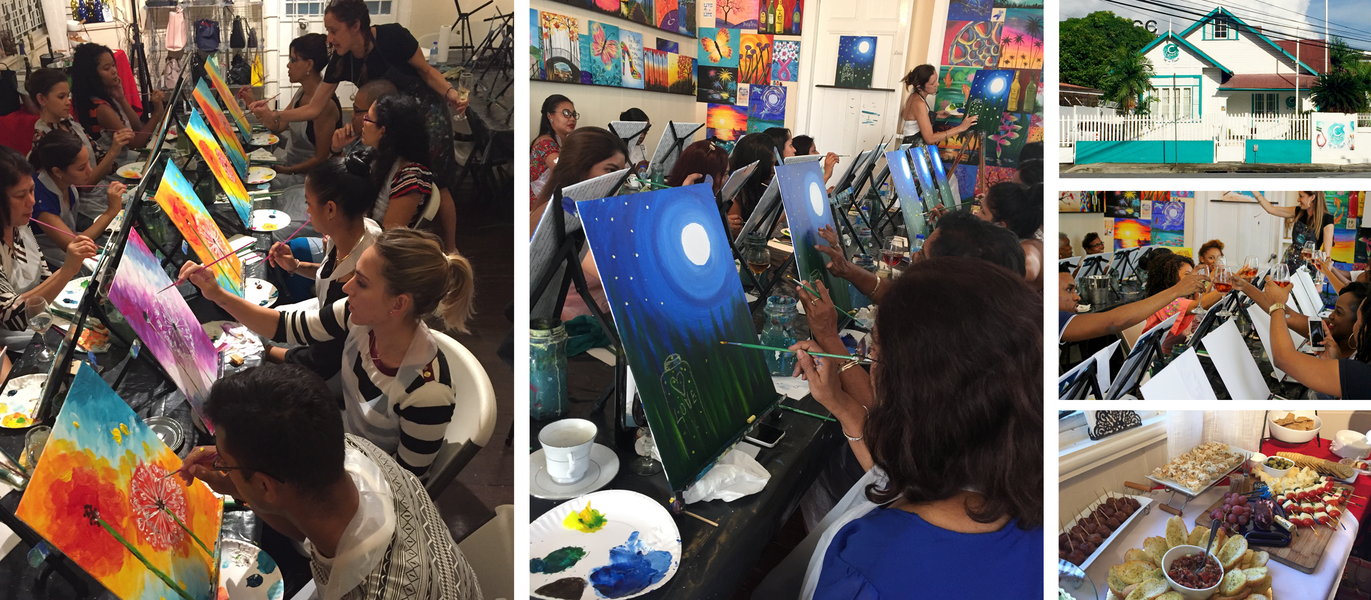 A fun unique Sip and Paint Experience - Tour