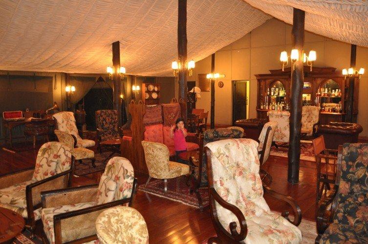 Kirawira Serena Tented Camp.