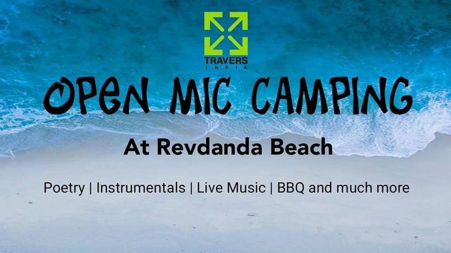 Open Mic Camping at Revdanda Beach - Tour