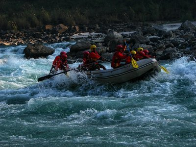Rishikesh Rafting in Winters