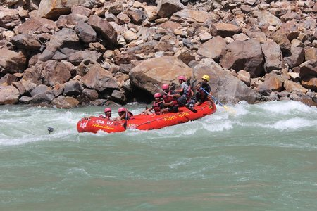 Rishikesh Rafting Camp