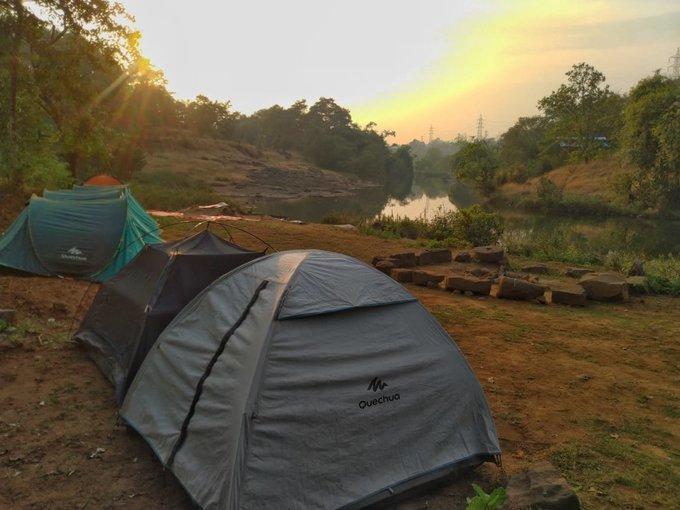 New Year Camping at Bhira Dam - Tour