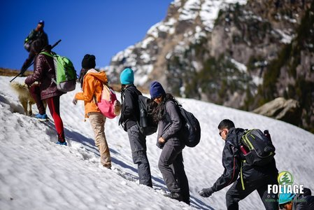 Manali Snow Trails
