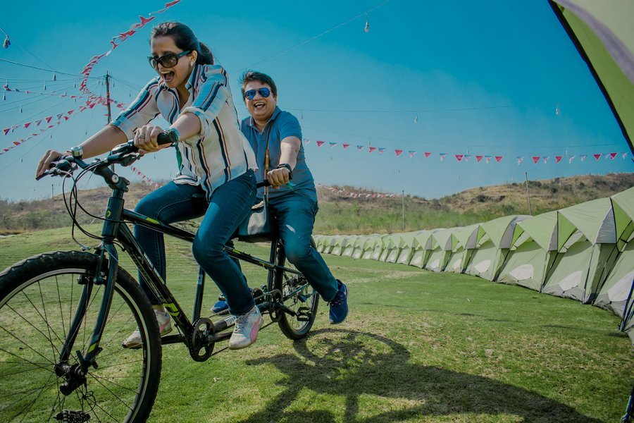 Camping at SulaFest 2020 - Tour