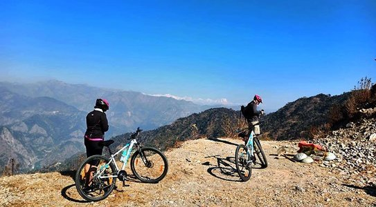 Mountain Biking Day Tip in Rishikesh