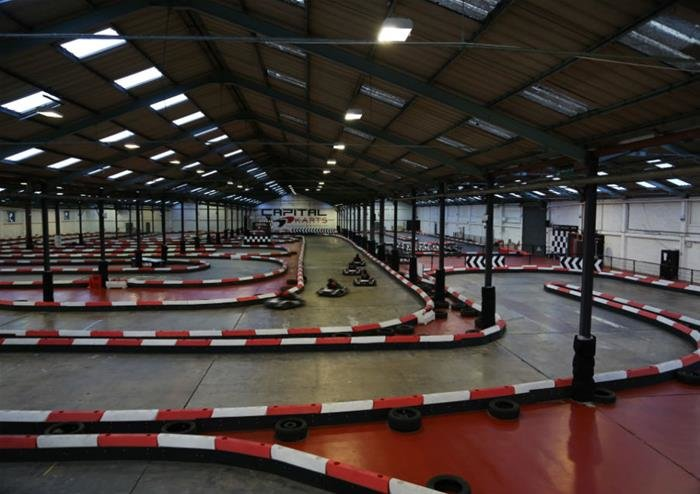 Indoor Go-Karting - Tour
