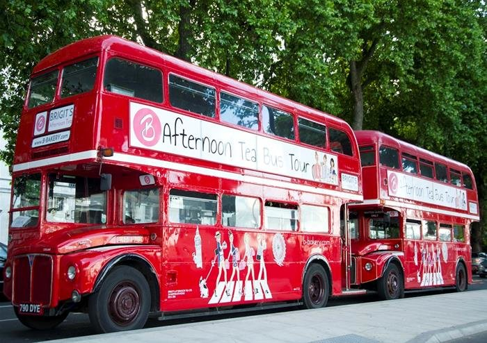 Afternoon Tea Bus Tour - London - Tour