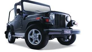 Mahindra Thar for rent for 3 days - Tour