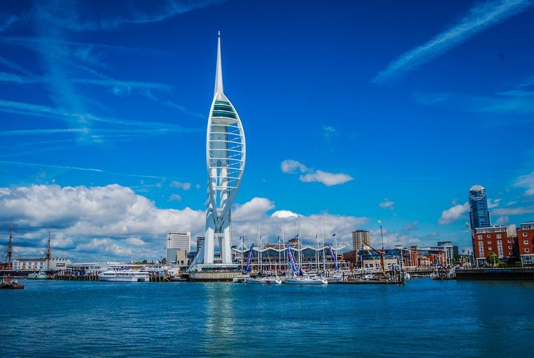 The Emirates Spinnaker Tower - Tour