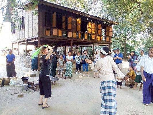 Explore to Ma Gyi Kan - Tamarind Lake Village with nature activities - Tour
