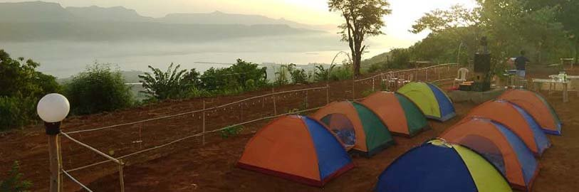 Lonavala Camping - (Hill Top - Pawna Lake view Special) - Tour