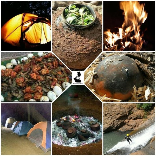 VRangers Waterfall Rappelling at Kakal Kond & Farm Camping with Special Food *POPATI* - Tour