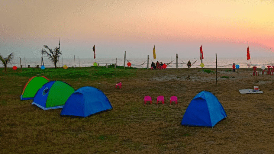 Beach Camping at Alibaug - Tour