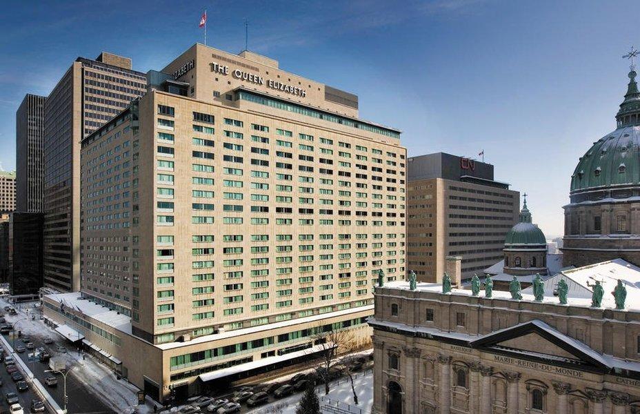 Fairmont the Queen Elizabeth, Montreal, Canada - Tour