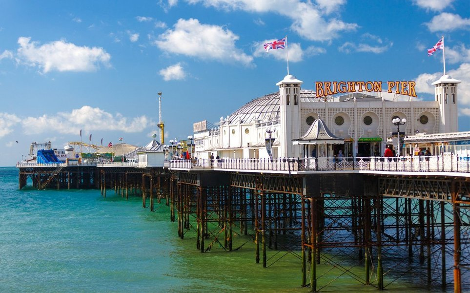 Day Trip by Rail to Brighton & Hop-on Hop-off Bus Tour - Tour