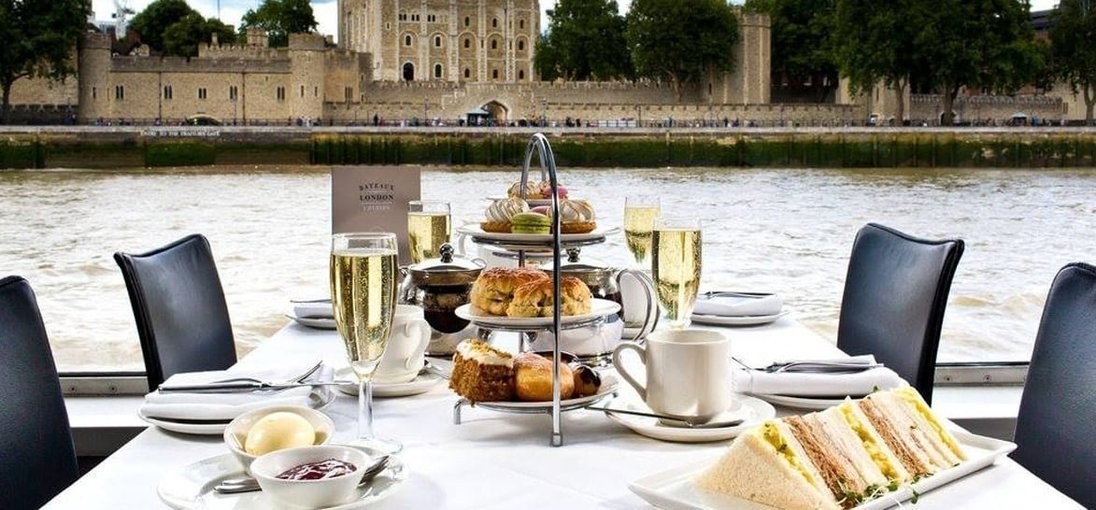 Afternoon Tea Cruise on the River Thames - Tour