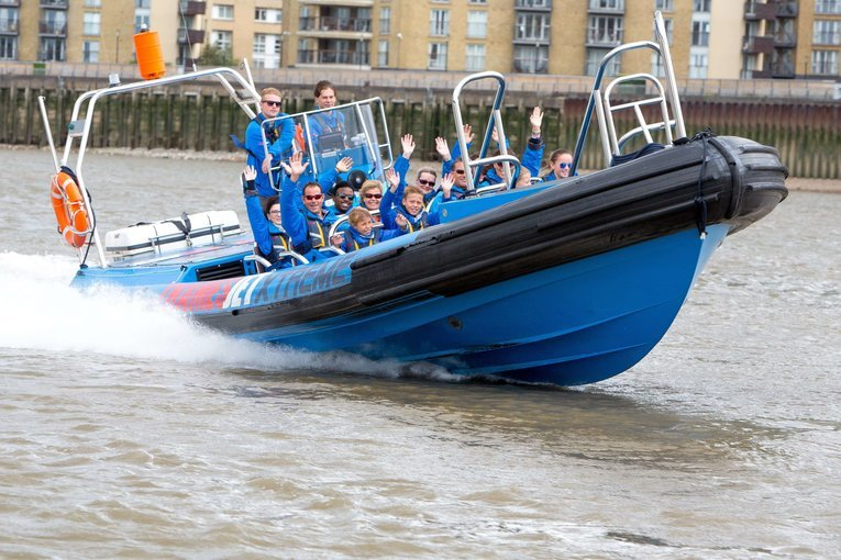 Thames Jet Speed Boat Experience on the Thames - Tour