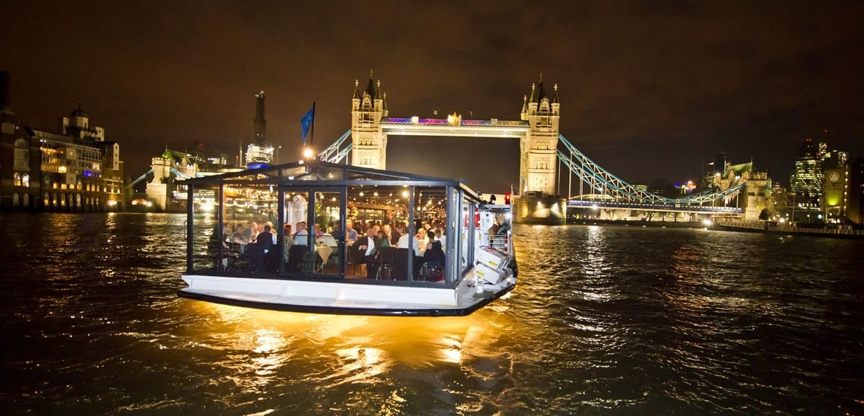 The London Showboat Dinner Cruise - Tour