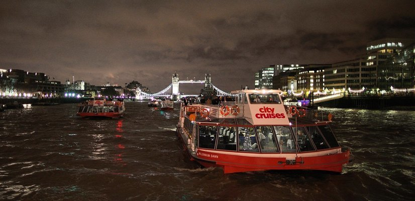 Thames Jazz Dinner Cruise with City Cruises - Tour