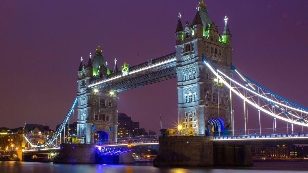 London by Night Open Top Bus Tour - Tour