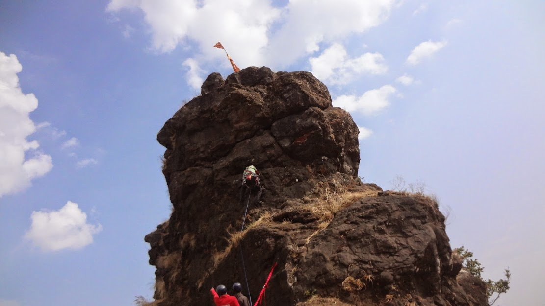 Vrangers Trek To Irshalgad Top Climb