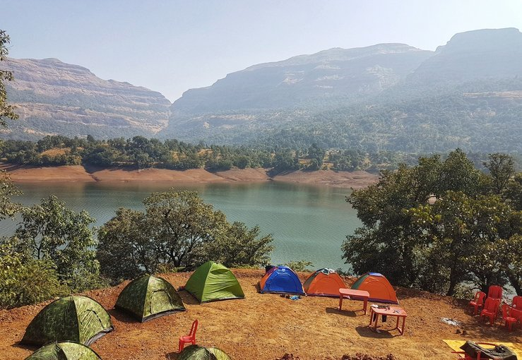 Holi Special Lakeside Camping at Bhandardara - Tour