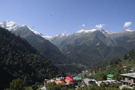 Kasol Grahan Tosh Backpacking Trek - Delhi to Delhi
