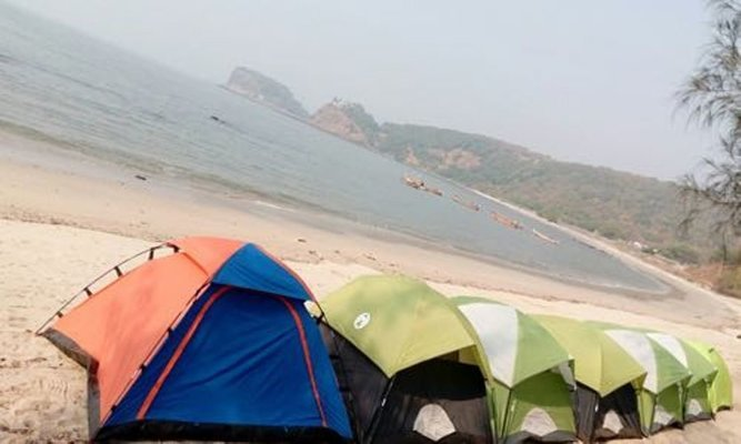 Kashid Beach Camping - Tour