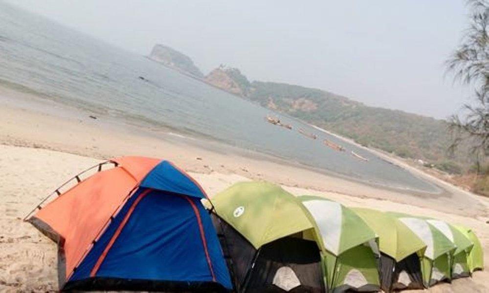 Kashid Beach Camping - Tour