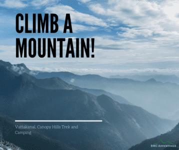 Trek to Canopy Hills, Vattakanal