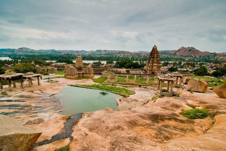 Heritage Tour to Hampi with Camping & Cycling