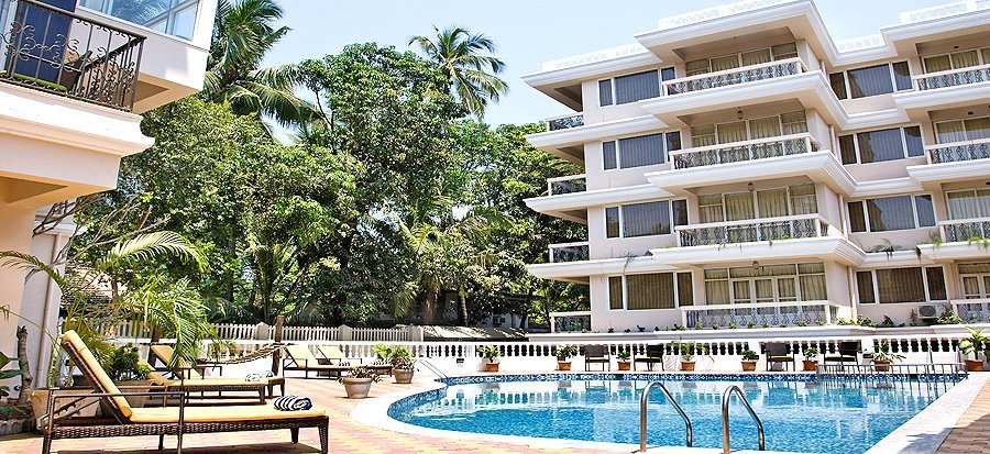 Ocean Palm Resort, one of the top-notch hotels in Calangute ★★★★ ( PER COUPLE) - Tour