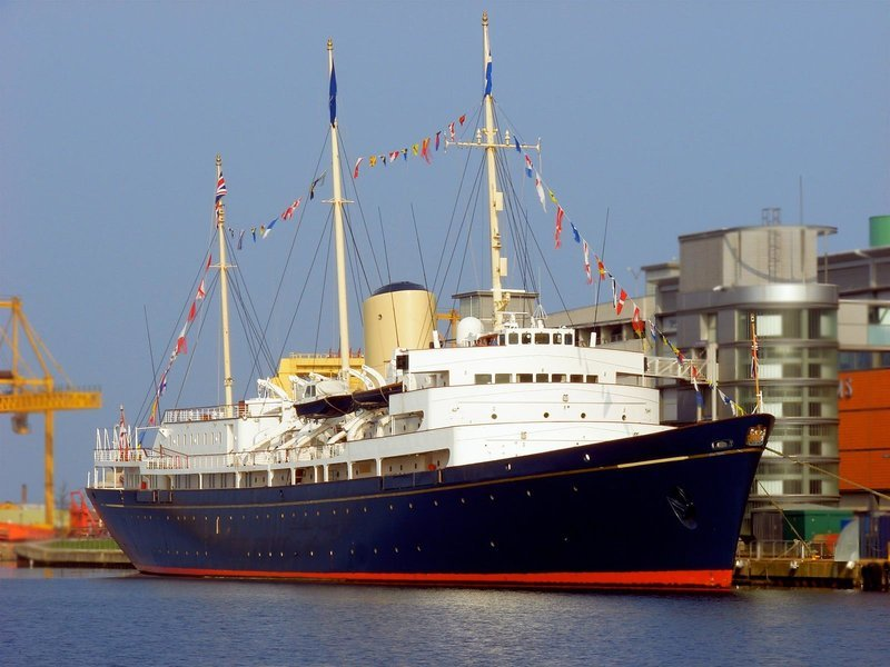 Royal Yacht Britannia - Tour