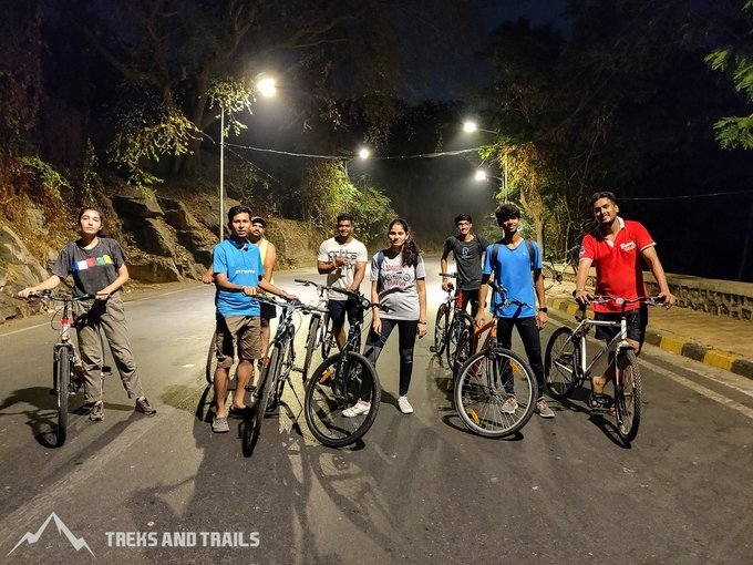 Mumbai Midnight Cycling - South Bombay Circuit - Tour