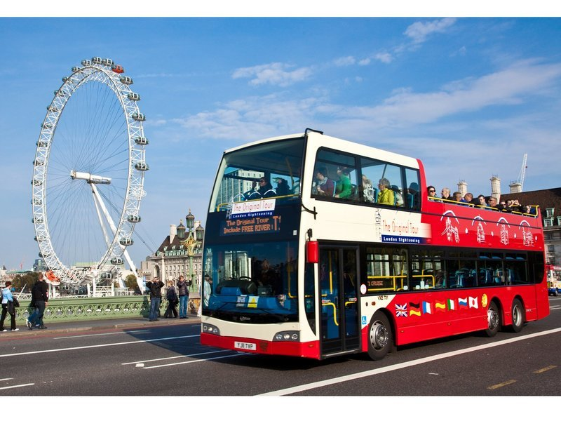 Hop On Hop Off London - 24hrs Ticket + London Eye - Tour