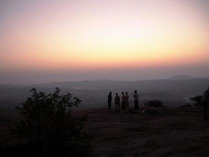 Sunrise trek and Rappelling at Ramnagaram - Tour