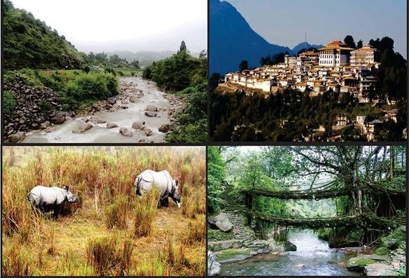 Assam Meghalay and Arunachal Pradesh 10 nights /11 days Taxi Tour - Tour