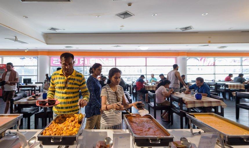 Indian Buffet At Pattaya By Samosa Express - Tour