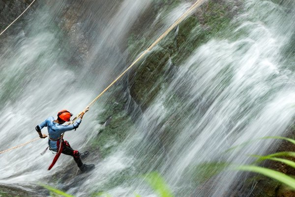 Waterfall Rappelling at Bhivpuri - Tour