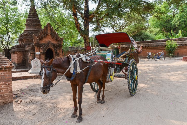 Authentic Bagan Tour with evening Horse Cart ride - Tour