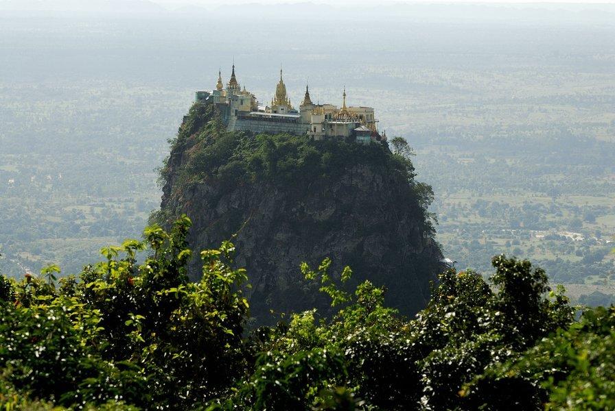 Spiritual Mount Popa & Ancient Salay - Tour