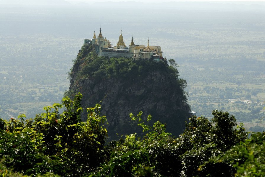 Spiritual Mount Popa & Ancient Salay - Tour