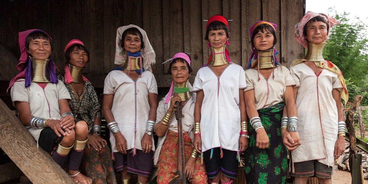 Origin of Kayan Ladies - Tour