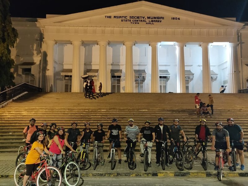Kojagiri special midnight cycle ride - Tour
