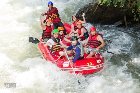 Rafting in Kundalika, Kolad