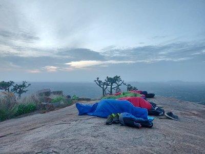 Sunrise trek to Chennarayana durga